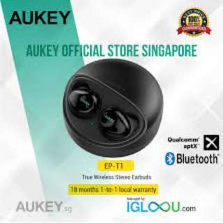 [EP-T1] AUKEY True Wireless Stereo Earbuds