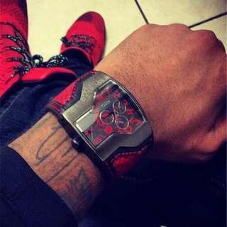 Oulm designer watch