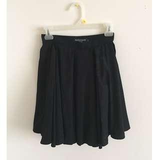 American Apparel Woven Piqué Skirt