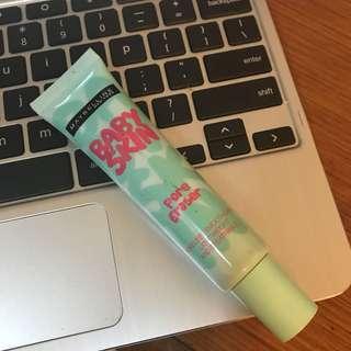Preloved Maybelline Baby Skin Primer (bought in Japan)