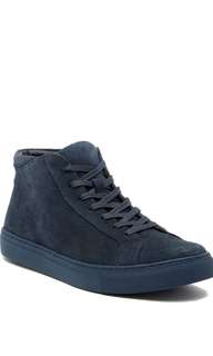 BRAND NEW KENNETH COLE REACTION Design Suede Hi-Top Sneaker
