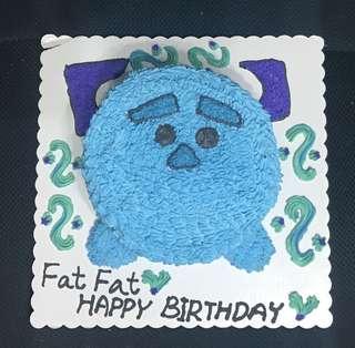 毛毛 TsumTsum 蛋糕