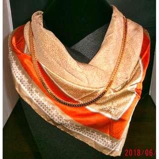 ESPRIT silk square scarf