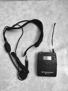 Sennheiser Headset & Body Transmitter set