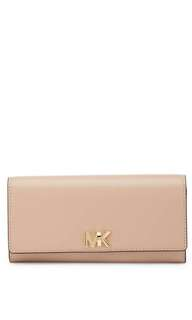 BRAND NEW MICHAEL KORS Leather Carryall Wallet