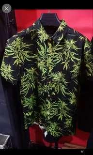 🚚 歐美 大麻葉 WEED 襯衫 嘻哈 HIP HOP 饒舌 尺寸S~XXL