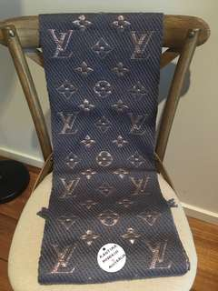 Authentic Pre-owned Louis Vuitton Logomania Scarf