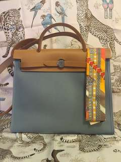Hermes Mini Evelyne, herbag