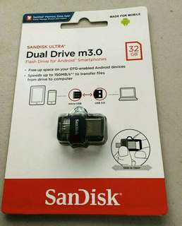 Sandisk OTG/USB 32GB (Brand New)