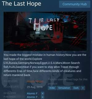 [Clearance Sale] Steam - The Last Hope