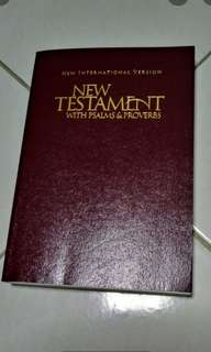 BLESSINGS BIBLE GIVEAWAY