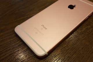 Iphone6splus 64gb玫瑰金