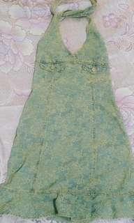 🚚 0918復古丹寧洋裝