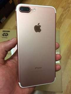 iPhone 7 Plus 128gb玫瑰金