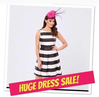 Dress sale! Cue, Review, Portmans, Jacquie E