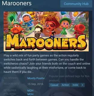 [Clearance Sale] Steam - Marooners