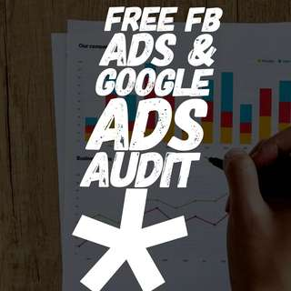 Free FB ads and Google Ads AdWords audit #blessing