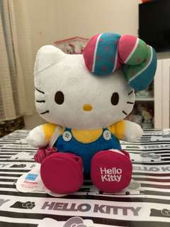 Red Sakura hello kitty plush. Taiwan exclusive