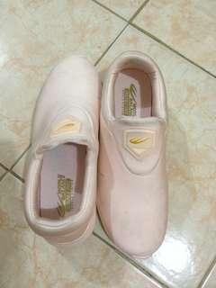 World Balance Salmon Pink Slip On Shoes