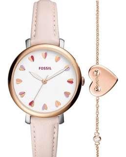 BRAND NEW FOSSIL Set Watch with Bracelet