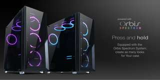Tecware Verge Mid-Tower RGB Gaming PC Case/Chassis(Tempered Glass)