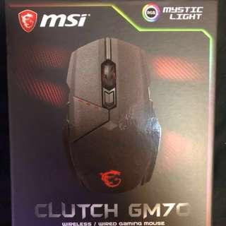 🚚 MSI Clutch GM70 GAMING 電競 滑鼠
