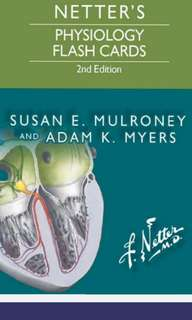 Netter's Physiology Flashcards 2nd Ed PDF