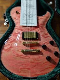 Knaggs SSC Pink with Onyx Binding (Dinged)