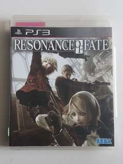 Ps3 Resonance of Fate Game