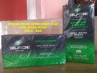 BLADE for men (Spring Fresh Deo Soap)