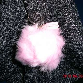 Furball (Baby Pink #3) Bag Accesory - w/o clasp