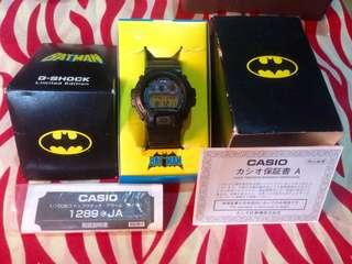 G-Shock x Batman the Dark Knight Limited edition