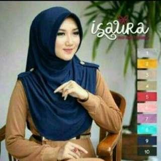 PROMO !!! hijab murah / hijab instan isaura