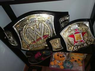 WWE Spinner Commemorative & WWE Rated R Kids
