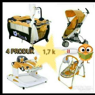Bunling Box Bayi-Stroller-Bouncer-Baby Walker