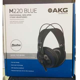 AKG Hardman M220 Blue Professional Semi-open studio headphones