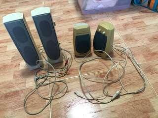 One pair Speaker each $15