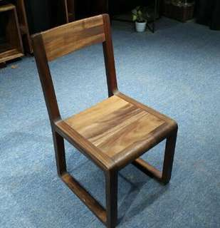 Suar wood chair solid furniture modern dinner chair
