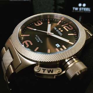 NEGOTIABLE~Brand New TW Steel 24 Jewels Automatic Watch CB195