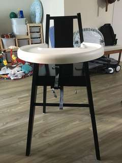 Ikea Highchair (high chair) with tray