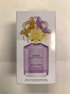 Brand New Limited Edition Marc Jacobs Daisy Perfume 75mL