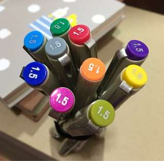 Tokyo Finds brushes/pens