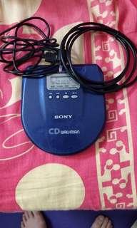 SONY D-E707 包括光纤輸出線CD 播放機