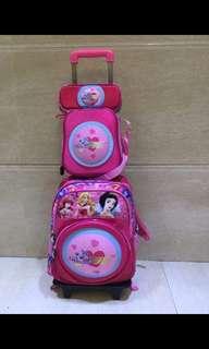 3 in 1 trolley bagpack