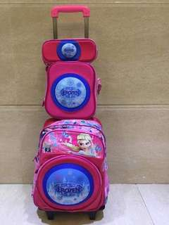 3 in 1 trolley bagpack