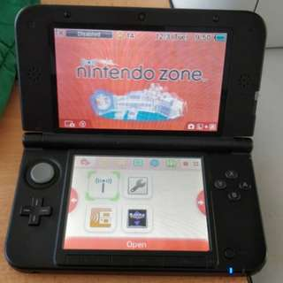 3ds xl modded murah gilo price reduced