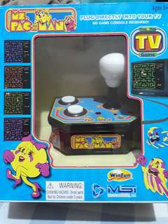 Ms Pacman TV Arcade Plug and Play Joystick