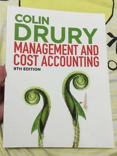 Management and Cost Accounting textbook (9th edition)