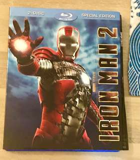 Iron Man 2 Original Bluray