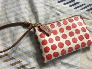 Coach wallet pouch